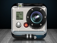 GoPro iOS icon concept