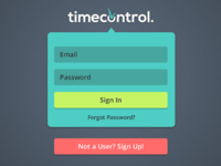 Timecontrol Login
