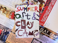 Summer Art & Clay Camp 2012
