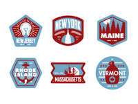 Floor Pass badges Northeast