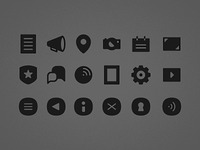 Floor Pass icons