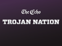 Trojan Nation logo for The Echo