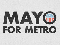 Mayo For Metro Logo #1
