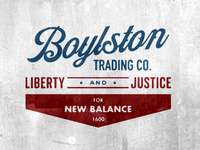 Boylston Trading Co x New Balance