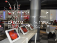 Google Glasses Check-in