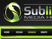 Sublime Media House Website Design