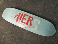 The Ilers Wedding Skate Deck