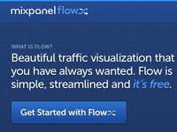 Mixpanel Flow Analytics Home Screen
