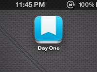 Day One iOS icon update