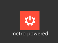 Metro Powered Logo