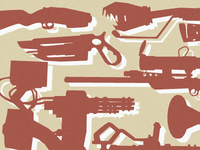 TF2 Weapons Print draft