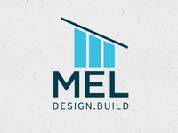 Mel Design Build Logo