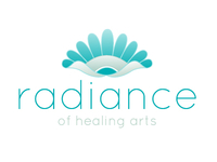 Radiance of Healing Arts logo concept