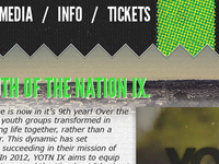 Youth of the Nation IX Website
