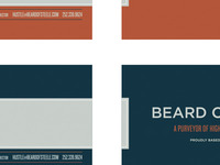 Beard of Steele business cards