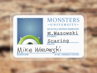 Monsters University: Mike Wazowski