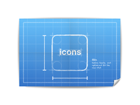 W.I.P.: Icons Blueprint