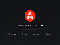 Made in Amsterdam navigation