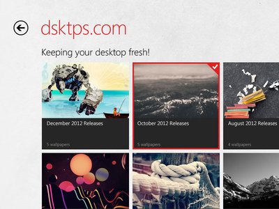 dsktps - Windows 8 App