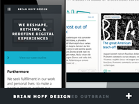 New BrianHoffDesign.com