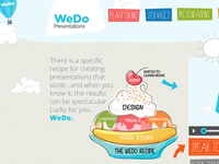 WeDo Presentations website design