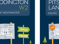 London map & illustration DM (Covers)