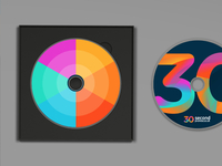 30SP brand development (colour palette)