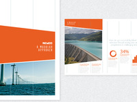 Brochure branding / page layout