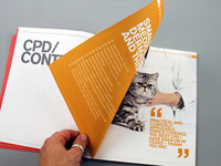 RVC CPD 2012 Brochure - Section spread