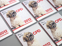 RVC CPD 2012 Brochure - Spot gloss cover