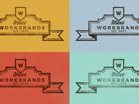 Meet the team WB logo - Colour Palette