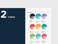 Colour palette / brandbook