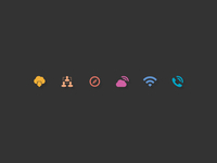 Events website Icon set