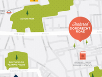 London map illustration & Icon development 2