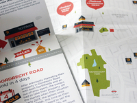 Sneak peak of the first (of 5) London map & illustration DM
