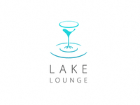 """Lake Lounge Bar"" logo concept"