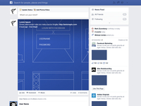 Facebook NewsFeed GUI