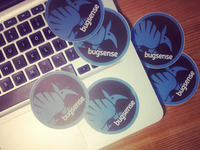 Bugsense Stickers