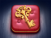 Golden Key iOS Icon