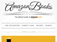 Amazon Books Tumblr