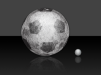 If our Moon was a Football