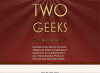 Two Geeks Web Design