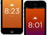 Sunrise/Sunset app