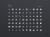 16s - UI Iconset