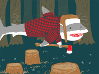 The Lumberjackshark