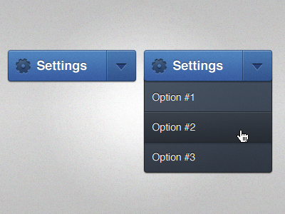 Settings-dropdown