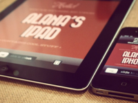 iPad + iPhone Branding