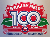 Wrigley Field 100th Anniversary