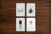 Tinkering Monkey business card set