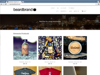 Beardbrand Store Refresh